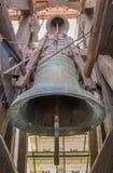 Bratislava - den äldsta och största klockan av St Martins Cathedral med den kända Vederinen 2513 kg, 1 557mm Royaltyfria Bilder