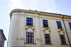 Bratislava. Detail of museum on Bratislava square stock image