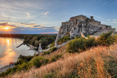 Bratislava, Devin castle, Slovakia Stock Photos