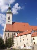 Bratislava domkyrka (Slovakien) Arkivbild