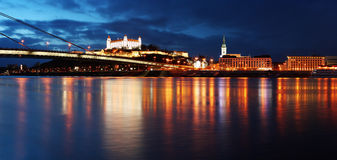 Bratislava embankment Stock Image