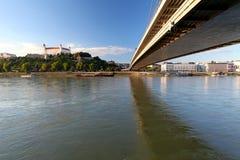 Bratislava embankment Royalty Free Stock Photos
