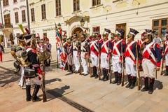 Bratislava, Eslováquia - 21 de maio de 2016: Um lembrete do cerco de N fotos de stock royalty free