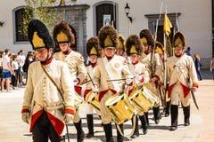 Bratislava, Eslováquia - 21 de maio de 2016: Um lembrete do cerco de N fotografia de stock royalty free