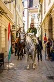 Bratislava, Eslováquia - 21 de maio de 2016: Um lembrete do cerco de N fotos de stock