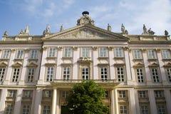 Bratislava - facade of baroque palace Stock Images