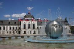 bratislava fontanny pokój Slovakia Zdjęcia Royalty Free