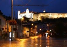 Bratislava - gammal stad arkivfoton