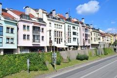 bratislava gammal town arkivbilder