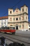 Bratislava - Hoofdstad van Slowakije Stock Afbeelding