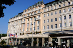 Bratislava  hotel Carlton Royalty Free Stock Photo