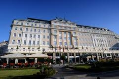 Bratislava hotell Carlton Royaltyfri Fotografi