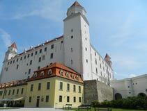 Bratislava kasztel, Bratislava, Sistani Obrazy Stock