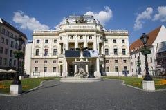 bratislava krajowy slovak teatr Zdjęcia Royalty Free