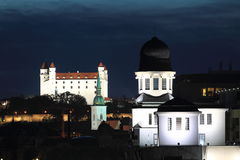 Bratislava landmarks Royalty Free Stock Photography