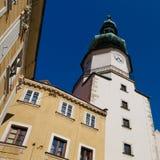 bratislava michal slovakia torn Arkivfoton