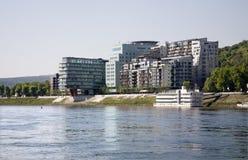 Bratislava - modern building Stock Images
