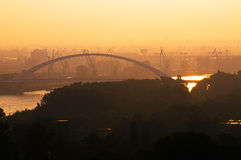 Bratislava in the morning Royalty Free Stock Photography