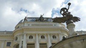 Bratislava National Theater Building stock video