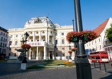 Bratislava - National Theatre Royalty Free Stock Photos