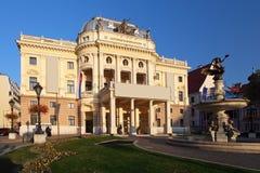 bratislava nationell slovakia theatre Arkivbild