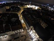 Bratislava by night Stock Photos