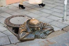 BRATISLAVA - OKTOBER 14, 2013 Arkivbilder