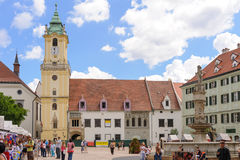 Bratislava Old Town Hall Royalty Free Stock Images