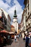Bratislava Old Town (Slovakia) Stock Photos