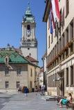 Bratislava Old Town - Slovakia Royalty Free Stock Photography