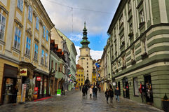 Bratislava Old Town Royalty Free Stock Images