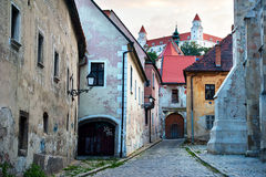 Bratislava old town stock photos