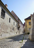 The Bratislava old town street Stock Image