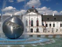 Bratislava - palácio presidencial Fotografia de Stock