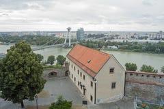 Bratislava panorama Stock Photography