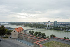 Bratislava panorama Royalty Free Stock Photos