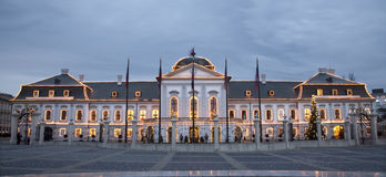 Bratislava - President palace Royalty Free Stock Photo