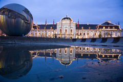Bratislava - president palace and christmas Royalty Free Stock Photos
