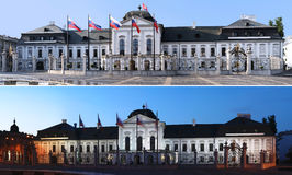 Bratislava - Presidential Palace - Panoramas Royalty Free Stock Photography