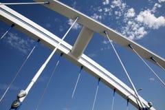 Bratislava - puente moderno de Apolo Imágenes de archivo libres de regalías