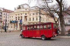 Bratislava que visita puntos de interés Imagen de archivo
