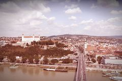 Bratislava rétro Photos stock