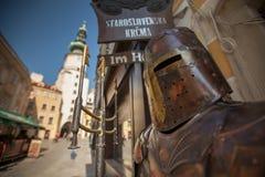 Bratislava-Rüstung Stockbild