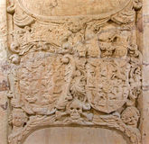 Bratislava - Relief of heraldry Royalty Free Stock Images
