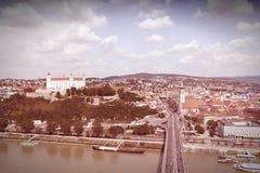 Bratislava retro Stock Photos