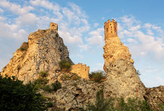 Bratislava - Ruin of castle Devin, Slovakia Royalty Free Stock Image