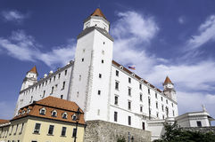 Bratislava-Schloss. Lizenzfreie Stockfotos
