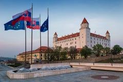 Bratislava-Schloss lizenzfreies stockfoto