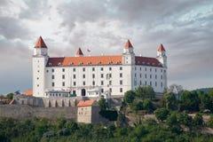 Bratislava-Schloss - Bratislavský-hrad Stockfoto