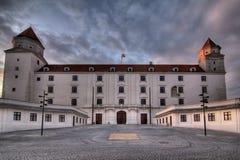 Bratislava-Schloss (Bratislavsky hrad) Lizenzfreie Stockfotografie